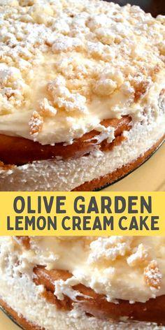 Lemon Desserts, Just Desserts, Delicious Desserts, Yummy Food, No Bake Summer Desserts, Gourmet Desserts, Cheesecake Desserts, Sweet Desserts, Cupcakes