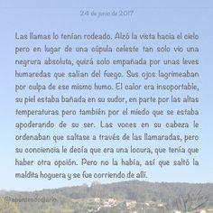 24 de junio de 2017 : #MicrocuentoZ #: #fuego #hoguera #sanjuan #nochedesanjuan #microcuento #microcuentos #microcuentos2017 #microrrelato  #apuntesdediario #cuento #breve #literatura #relato #texto #text #artistsoninstagram  #junio #june #201706 #mediodia #noon #cielo #blue #azul