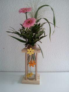 Milchglas-Vase