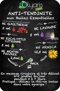 Tendinite : Les Huiles Essentielles pour la soulager > Conseils Beauté Heath Care, Naturopathy, Aromatherapy Oils, Alternative Medicine, Herbal Remedies, Doterra, Diy Beauty, Health Tips, Health Benefits