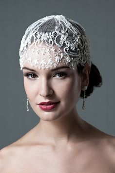10. de #lacet - Bandeau de #mariage belle 10 #idées pour vous faire une #belle mariée... → #Wedding