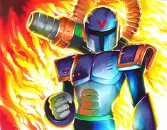 Mega Man X - Vile by Strixic on DeviantArt