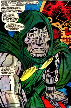 Doctor Doom Got 99 Problems. Art: Jack Kirby