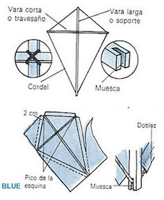 De rombo. Kite Building, 3d Puzzles, Origami, Diy For Kids, Activities For Kids, Projects To Try, Miniatures, Kites, Crafts