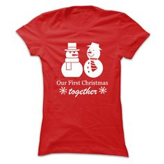 Our First Christmas Together Snowman T-Shirts, Hoodies. SHOPPING NOW ==►…