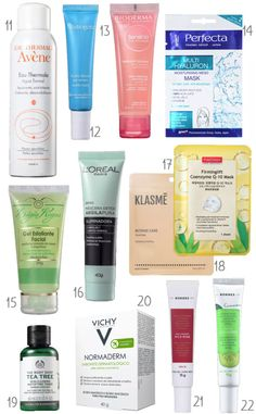 Suffering From Acne? Top Ways To Eliminate Acne – Fashion Trends Beauty Kit, Beauty Hacks, Putting On Makeup, Dry Scalp, Neem Oil, Beauty Regimen, Oily Hair, L'oréal Paris, Fake Eyelashes