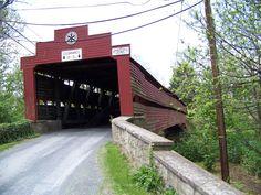 Dreibelbis Station Covered Bridge    Berks Co. Pa