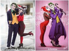Here's Harley's Joker Anthony Misiano and Joker's Harley for the last of the Cosplayer Appreciation Month posts Harleys Joker and Jokers Harley Cosplay Joker Costume, Cosplay Costumes, Cosplay Ideas, Amazing Cosplay, Best Cosplay, Anthony Misiano, Batman Cosplay, Joker Art, Joker And Harley Quinn