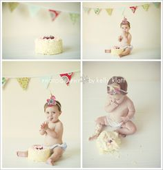 smash cake... :)