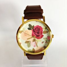 Floral Watch Rose Vintage Style Watch Victorian by FreeForme, $12.00