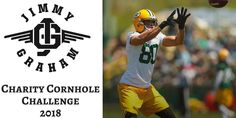 """Jimmy Graham on Twitter: """"I am excited to start the 2018 training camp off on the right foot with my first Charity Cornhole Challenge in Green Bay! Can't wait to see you there. https://t.co/Hjs1FTBElH In collaboration with @iplaycornhole & @BadgerStateBeer"""""""