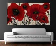 """Képtalálat a következőre: """"cuadros de flores modernos"""""""