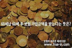 60세납 60세 후 보험 가입금액을 받는다는 뜻은? :: 보험의 새로운 패러다임! www.true-in.com