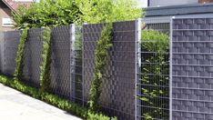 Ideas For A Garden Fence Design - Uncinetto Fence Design, Garden Design, Fencing Material, Gabion Wall, Privacy Fences, Chain Link Fence, Bamboo Fence, Garden Fencing, Nursery Design