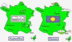 Avant de partir en France, consultez la météo pour savoir quels vêtements vous…