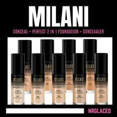 Milani Conceal And Perfect, Eye Circles, Matte Foundation, Money Savers, Loreal Paris, Alcohol Free, Sun Protection, Maybelline, Concealer