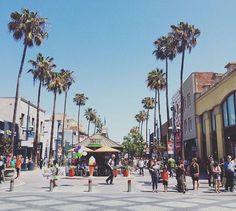 Third Street Promenade: cool street with lots of shops and restaurants in Santa Monica. Best during holidays!