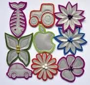 Kuvahaun tulos haulle heijastimien teko Easy Sewing Projects, Diy Projects To Try, Sewing Hacks, Hobbies And Crafts, Diy And Crafts, Arts And Crafts, Rock Crafts, Creative Crafts, Little Gifts