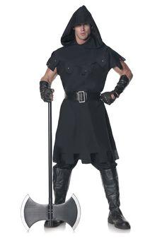 Men's Executioner Costume - FOREVER HALLOWEEN Buy Costumes, Scary Halloween Costumes, Theme Halloween, Costume Shop, Adult Costumes, Halloween Ideas, Costume Renaissance, Medieval Costume, Medieval Tunic
