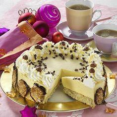 Eierlikör-Mousse-Torte Rezept   LECKER