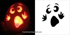 10 Easy Halloween Pumpkin Carving Stencils, Patterns & Printables for Kids 2016 – Real Time – Diet, Exercise, Fitness, Finance You for Healthy articles ideas Pumpkin Face Templates, Printable Pumpkin Stencils, Pumpkin Template, Easy Pumpkin Stencils, Easy Pumpkin Carving Patterns, Disney Pumpkin Carving, Scary Pumpkin Carving, Halloween Pumpkin Carving Stencils, Pumpkin Painting