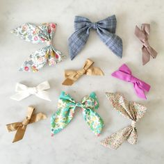 The sweetest hair bows from Free Babes