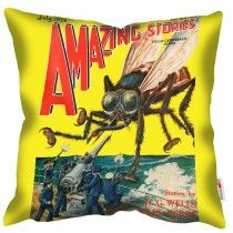 Amazing - The Fly - Mary Evans Cushion