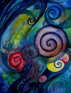 Spirals in Art