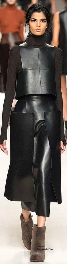 Fendi Fall 2015 RTW Designer: Karl Lagerfeld ♦F&I♦