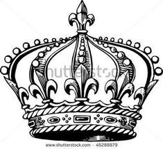 king crown stencil - Pesquisa Google