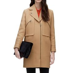 Elodie Biker Coat by Whistle | http://fancy.com/things/489762603057283935/Elodie-Biker-Coat-by-Whistle?ref=therealoliviap&action=buy
