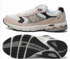 Discount New Balance Grey Gold Black Mens Sneakers For Males/Boys