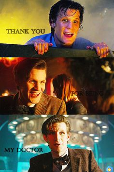Raggedy Man, Goodbye. All the feels knowing this Christmas will be Matt's last.