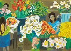 (Korea) Oaxaca, Mexico,1979 by Chun Kyung-ja (1924-2015).