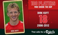 100PWSTK: 18. Dirk Kuyt - Liverpool FC