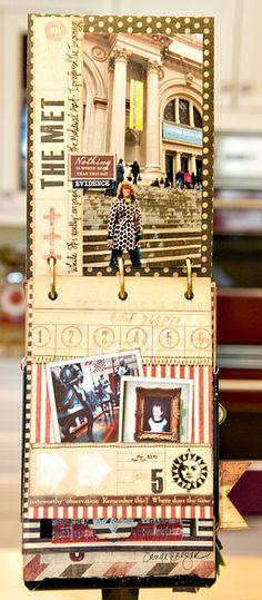 travel journal/scrapbook