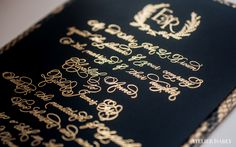 Elizabeth and Richard | Luxury Wedding Invitations : Custom | Atelier Isabey