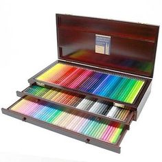 Holbein-Artists-Colored-Pencil-150-colors-all-colors-Set-in-Wood-Box-OP946