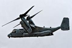 V-22 Osprey in flight