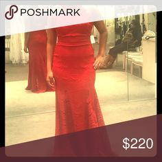 Three prom dresses and a pair of shoes Red lace gown back out perfect for prom Dresses Prom
