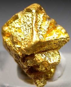 Gold from near Likely, British Columbia, Canada