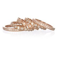 Capri Jewelers Arizona ~ www.caprijewelersaz.com  rose gold wedding bands / stack bands