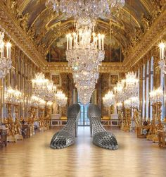 Joana Vasconcelos at Versailles <3