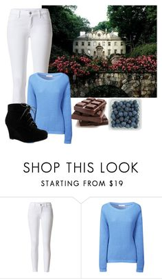 """Jumping out the house she ran with the kids to the wall to eat some chocolate"" by arrowette-845 ❤ liked on Polyvore featuring Glamorous"
