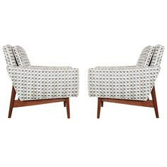 Pair Of Jens Risom Lounge Chairs For Jens Risom Design Inc. | From A Unique  Collection Of Antique And Modern Armchairs At ...