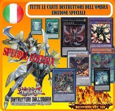 YUGIOH TUTTE LE CARTE , DISTRUTTORI DELL OMBRA , EDIZIONE SPECIALE IN ITALIANO !