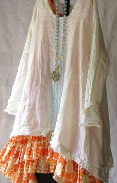 I adore this white shirt Tina Givens Couture