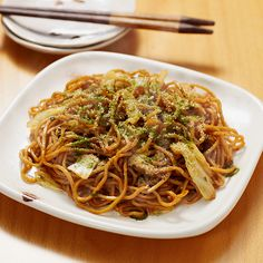 """Yakisoba. My daughter loves it so much she yells out the name repeatedly with excitement, """"Yakisoba!!!!!!!"""" """"Yakisoba!!!!!!!"""" """"Yakisoba!!!!!!!"""""""