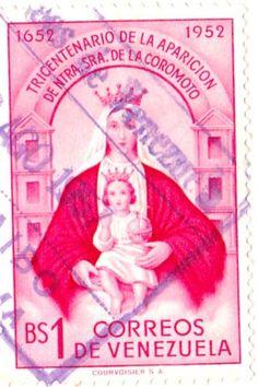 Venezuela Stamps BS DE CORREOS VENEZUELA 1957 USED