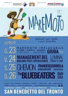 Maremoto Festival 2015, al via la nona edizione